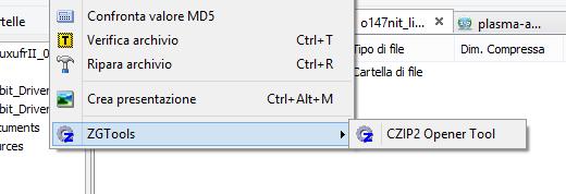 Estendi le funzioni di ZipGenius con l'installazione (o la creazione) degli ZGTools.